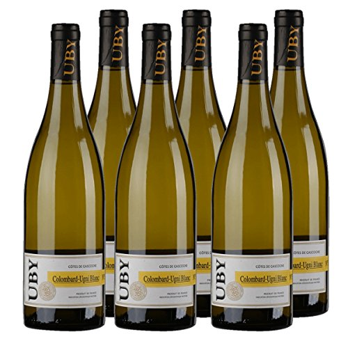 UBY-Colombard-Ugni-Blanc-Gascogne-IGP-No3-Weiwein-Frankreich-2017-trocken-6x-075-l
