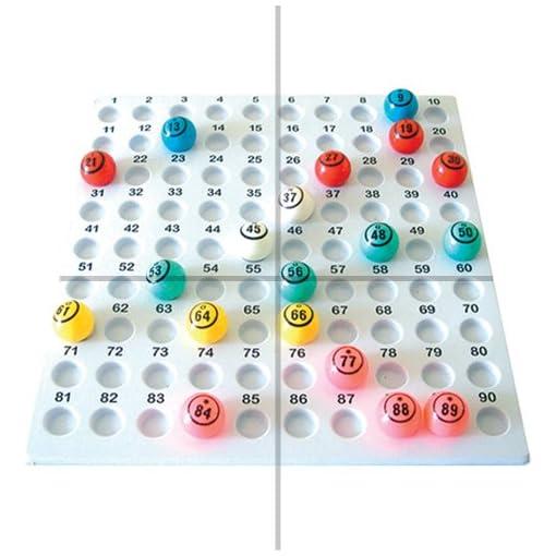 Riese-Bingo-Kfig-Blle-Platte
