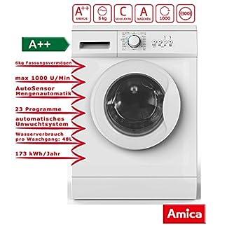 Amica-WA-14681-W-Waschmaschine-FrontladerA-1000-rpm-6-kilograms