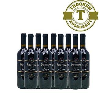 Rotwein-Italien-Primitivo-Puglia-IGT-Soprano-trocken-9x075L