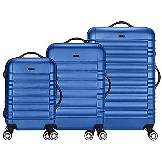 TRAVEL-LORD-Eco-Serie-Hartschalen-Trolley-Reisekoffer-54-64-74-cm-32-72-88-Liter-5-Farben
