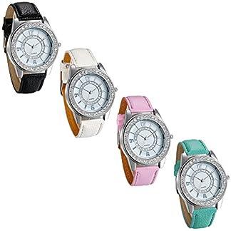 JewelryWe-Damen-Armbanduhr-Leder-Armband-Business-Casual-Elegant-einfaches-modisches-Design-Analog-Quarz-Uhr-1224H-Ziffern-weies-Zifferblatt-Strass-Lnette-4-Modellen