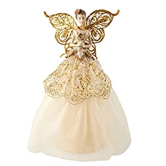 The-Contemporary-Home-Creme-Gold-Fairy-Christbaumspitze