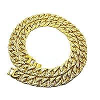luoem-Elegante-Halskette-Herren-Hip-Hop-Jewelry-Sparkling-Rhinestone-Glas-Diamanten-Kuba-Glieder-Kette-vergoldet-Halskette-75-cm