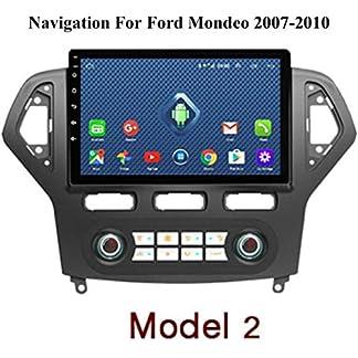 DUMXY-Auto-Navigation-GPS-Android-fr-Ford-Mondeo-2007-2013-AM-FM-BT-CanbusBluetoothFreisprechfunktionFMAMAUXUSBLenkradsteuerungMirror-Llink