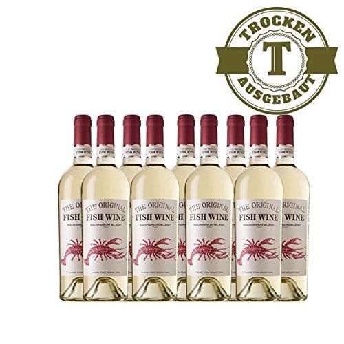 Weiwein-Chile-The-Original-Fish-Wine-Sauvignon-Blanc-trockenBlanc-9x075l-VERSANDKOSTENFREI