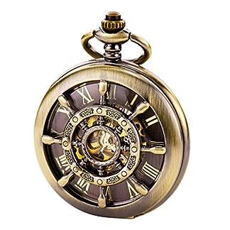 TREEWETO-taschenuhr-mit-kette-herren-bronze-doppelabdeckungen-rmische-ziffern-retro-uhr-taschenuhren-mechanisch-pocket-watch