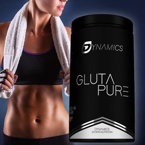 Dynamics Nutrition L-Glutamin 500g | Neutral | Hergestellt in Deutschland | Vegan | Regeneration | Muskelaufbau | Premium Qualität |