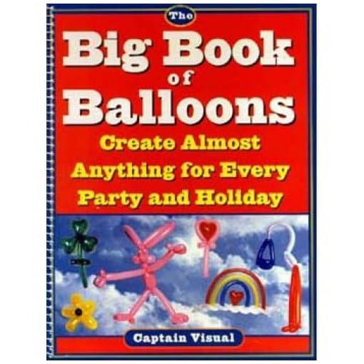 Captain-Visual-s-groes-Buch-von-Ballons-Giovinco