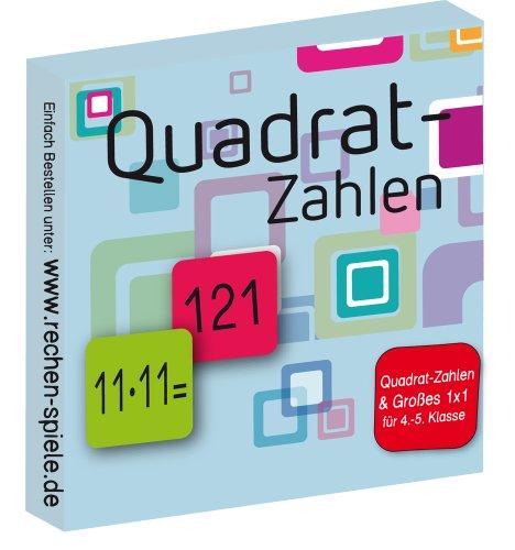 Quadrat-Zahlen-Groes-1×1-leicht-lernen-mit-Karteikarten