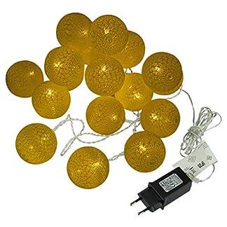 Kugel-Lichterkette-20-LED-warm-wei-Lichterkette-mit-Flechtdesign-Textil-Design-Weihnachtsdeko-Kugellichter-Leuchtblle-Trafo-Zimmerdekoration-Xmas