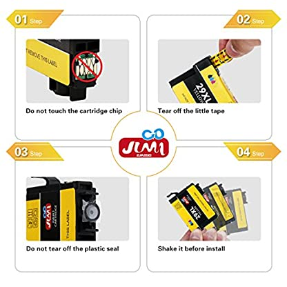 JIMIGO-29XL-Ink-Cartridges-Replacement-for-Epson-29-Compatible-ink-cartridges-6-Black-3-Cyan3-Magenta-3-Yellow