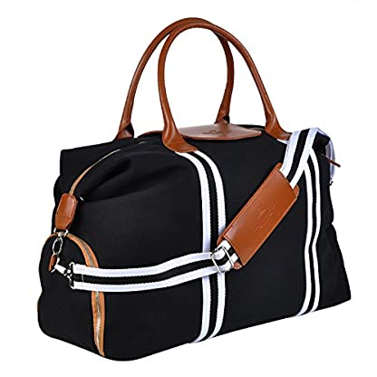 Saint-Maniero–Design-Reisetasche-mit-extra-Schuhfach–vernderbares-Volumen-von-XL-auf-Handgepck–wasserabweisendes-Material–perfekte-Ordnung-durch-Auen-und-Innentaschen