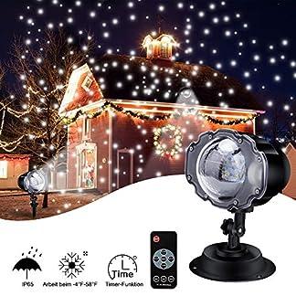 LED-Projektionslampe-ECOWHO-4-Modis-LED-Licht-Projektor-mit-Fernbedienung-Timer-IP65-wasserdicht-Projektionslampe-schneefall-Gartenleuchte-Projektor-fr-Weihnachten-Halloween-auen-Innen-Kinder