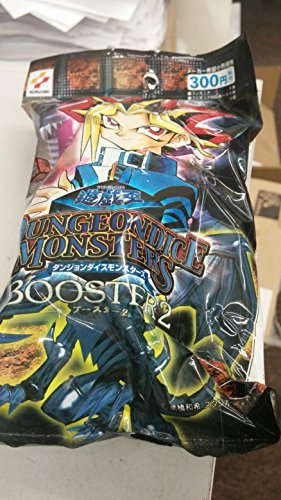 1-Pack-Yu-Gi-Oh-Dungeon-Dice-Monsters-Booster-2-unopened-japan-import