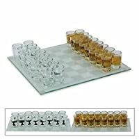 Schnaps-Schach-Trinkspiel-mit-32-Schnapsglser-Spielbrett-edel-neu