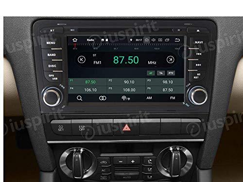 Android-81-GPS-DVD-USB-SD-Wlan-Bluetooth-Autoradio-2-Din-NAVI-kompatibel-mit-Audi-A3-Audi-S3-2002-2003-2004-2005-2006-2007-2008-2009-2010-2011
