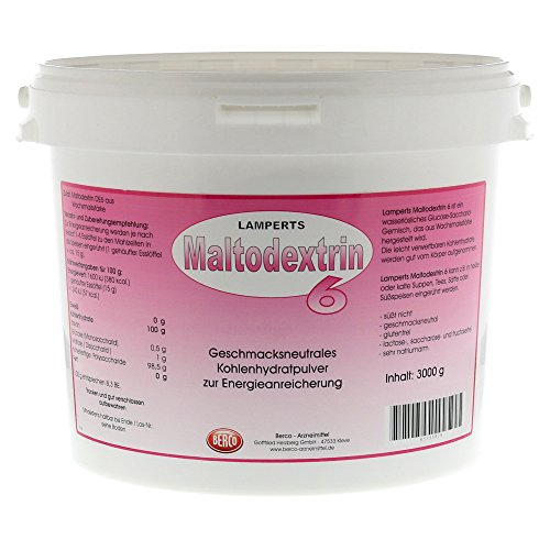MALTODEXTRIN 6 LAMPERTS, 3000 g