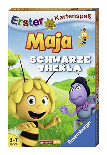 Ravensburger–20328-4–Kartenspiel–Biene-Maja