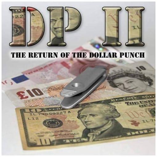 DP-II-The-Return-of-the-Dollar-Punch-by-Card-Shark-Magie-mit-Tuch-Zaubertricks-und-Magie
