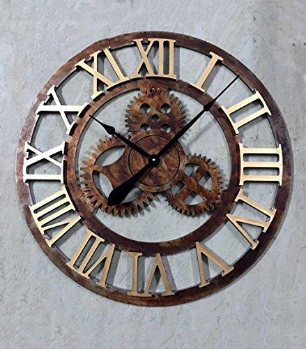 YGR-GUAZHONG-American-Wanduhr-Holzindustrie-Wind-Getriebe-Wand-Diagramm-Bar-Cafe-Retro-Wanduhr-Wohnzimmer-Schlafzimmer-Kreative-Persnlichkeit-Uhr-Maschinist-Wanduhr-Durchmesser-70cm