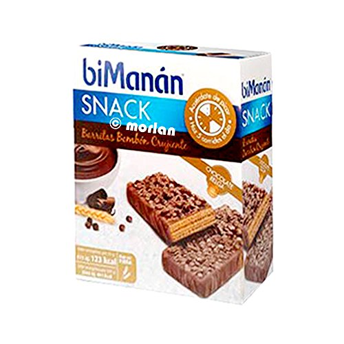 Bimanan Sustitutive knusprige Schokoladensnack 10 Einheiten