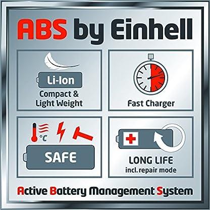 Einhell-Akku-Rasenmher-GE-CM-43-Li-M-Kit-Lithium-Ionen-2-x-18-V-4000-mAh-Schnittbreite-43-cm-6-fache-Schnitthhenverstellung-25-75-mm-Fangbehltervolumen-63-l-inkl-2-Akkus