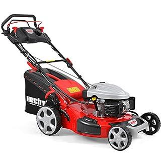 HECHT-Benzin-Rasenmher-5564-SXE-Rasenmher-Elektro-Start-Funktion-44-kW-60-PS-56-cm-70-Liter-Radantrieb