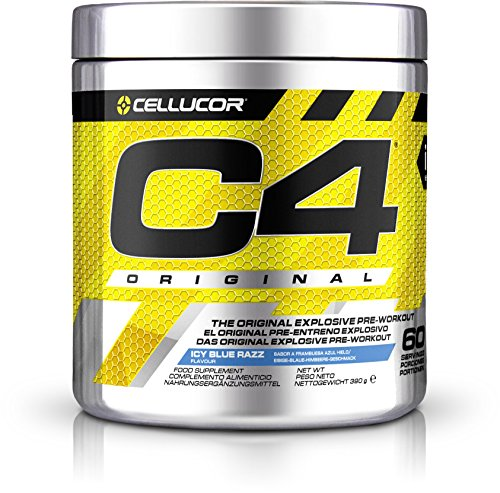 Cellucor C4 Original (60 serv) Icy Blue Razz, 390 g