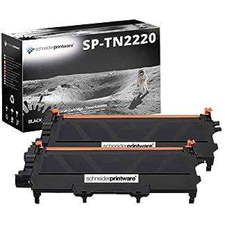 2-Schneider-Printware-Toner-300-Prozent-Hhere-Reichweite-kompatibel-zu-TN-2220-TN-2010-fr-Brother-MFC-7360N-MFC-7460DN-MFC-7860DW-DCP-7055-DCP-7060D-DCP-7065DN