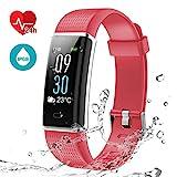 LATEC-Fitness-Tracker-Uhr-mit-Pulsmesser-Smart-Armbanduhr-Wasserdicht-IP68