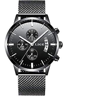 LIGE-Herren-Uhr-Analog-Quarz-mit-Edelstahl-Armband-9820