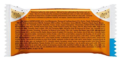 Energy OatSnack, natürliche Riegel – von Hand gemacht, Latte Macchiato, 30x65g, 1er Pack (1 x 1,95kg)