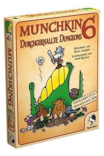 Pegasus-Spiele-17216G-Munchkin-6-Durchgeknallte-Dungeons