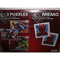Clementoni-The-Amazing-Spider-Man-3Puzzle-2×20-und-100-Teile-Memo