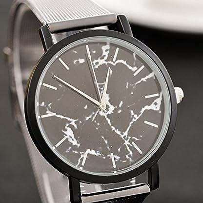 Souarts-Damen-Armbanduhr-Marmor-Muster-Deko-Quarz-Uhr-mit-Batterie-Charm-Geschenk