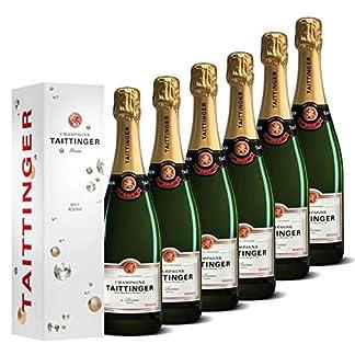 Taittinger-Champagner-Set-6x-075l-Brut-Rserve-jeweils-in-Geschenkverpackung-Champagnerset