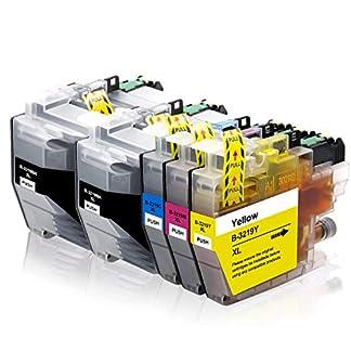 Labewell-LC3219XL-Ersatz-fr-Brother-LC3219-XL-LC-3219-Patronen-Kompatibel-mit-Brother-MFC-J5730DW-MFC-J5330DW-MFC-J5335DW-MFC-J6930DW-MFC-J6530DW-MFC-J6935DW-2-Schwarz-1-Cyan-1-Magenta-1-Gelb