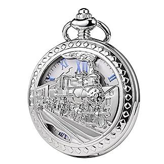 TREEWETO-taschenuhr-mit-kette-herren-silber-retro-dampflokomotive-rmische-ziffern-taschenuhren-mechanisch-pocket-watch