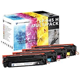 4-Schneider-Printware-Toner-kompatibel-zu-045H-045-fr-Canon-LBP613Cdw-LBP611Cn-MF635Cx-MF633Cdw-MF631Cn-schwarz-Cyan-Magenta-gelb