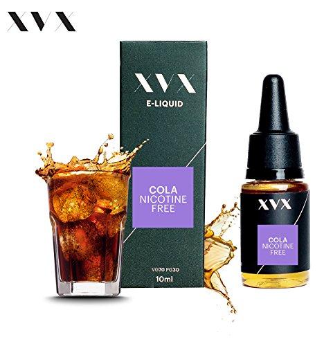XVX E-Liquid  Cola Geschmack  Elektronisches Liquid Für E-Zigarette  Elektronische Shisha Liquid  10ml Flasche  Nadelspitze  Präzise Befllung  Wähle Deinen Lifestyle  Neu Für 2016  Digitaler Rauch  Nikotinfrei  Tabakfrei