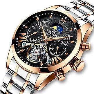 Herren-Automatikuhr-Mnner-Mechanische-Automatik-Wasserdicht-Gold-Edelstahl-Skelett-Designer-Armbanduhr-Mann-Klassisch-Schwarz-Datum-Kalender-Leuchtende-Mond-Phase-Analog-Uhren