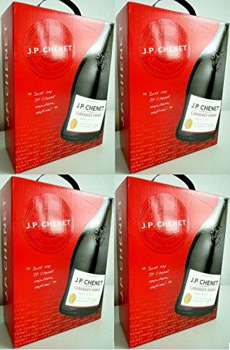 4-x-JP-CHENET-CABERNET-SYRAH-FRANKREICH-3-Liter-BAG-IN-BOX-Incl-Goodie-von-Flensburger-Handel
