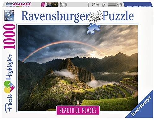Ravensburger-Erwachsenenpuzzle-15158-Regenbogen-ber-Machu-Picchu-Peru-Puzzle