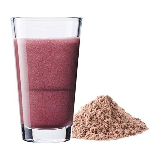 Vegan Protein (Blaubeere) – Protein aus Reis, Hanfsamen, Lupinen, Erbsen, Chia-Samen, Leinsamen, Amaranth, Sonnenblumen- und Kürbiskernen – 600 Gramm Pulver mit natürlichem Blaubeeren Geschmack