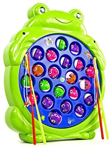 Angel-Spiel-Angeln-Spielzeug-fr-Kinder-Elektrisch-Fische-und-Angel-4-Angelruten