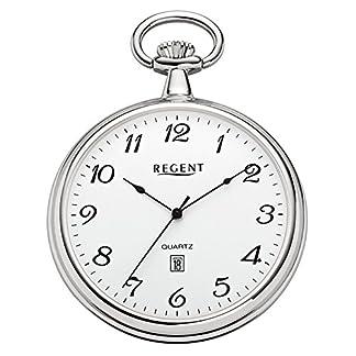 Regent-Taschenuhr-Quarz-Silber-P80