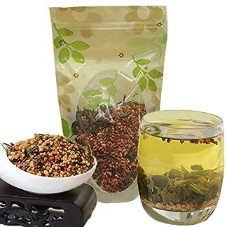100g-022LB-Premium-Brauner-Reis-Grner-Tee-Genmaicha-Sencha-mit-dem-Reis-Krutertee-duftender-Tee-Blumentee-Botanischer-Tee-Kruter-Tee-Roher-Tee-Blumen-Tee-Gesundheit-Tee-Chinesischer-Tee