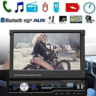 Sue-Supply-7-HD-Auto-MP5-Touchscreen-GPS-Sat-NAV-Bluetooth-Stereo-Retractable-Radio-Kamera-Auto-MP5-Bluetooth-Player