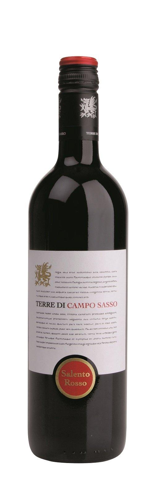 6x-075l-2015er-Terre-di-Campo-Sasso-Rosso-Salento-IGP-Apulien-Italien-Rotwein-trocken